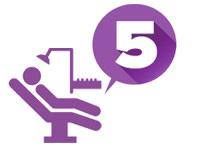 5 просторных стоматологических кабинетов