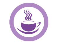 клиентам бесплатный кофе или чай